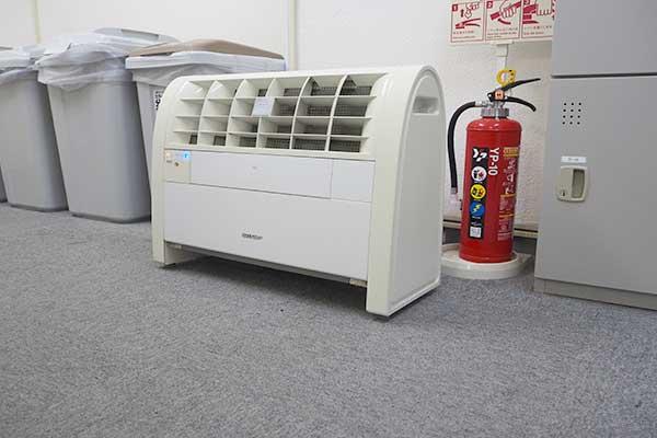 自習室五反田店 空気清浄機