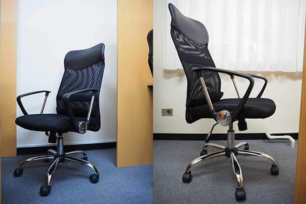 有料自習室鶴見店 椅子