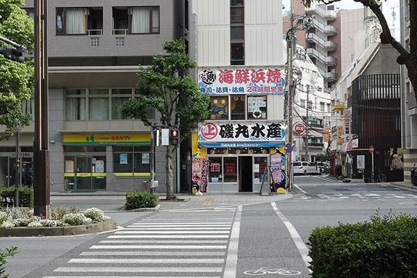 自習室鶴見店舗前風景