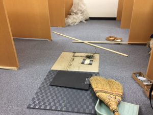 自習室 NTT工事