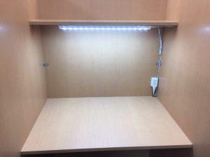 自習室鶴見 LEDライト